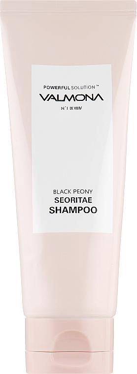 Шампунь для волос с протеинами черных бобов и пионом - Valmona Powerful Solution Black Peony Seoritae Shampoo