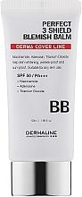 Духи, Парфюмерия, косметика ВВ-крем - DermaLine Perfect 3 Sheld Blemish Balm SPF 50/PA+++