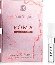 Духи, Парфюмерия, косметика Laura Biagiotti Roma Rosa - Туалетная вода (пробник)