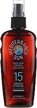 Духи, Парфюмерия, косметика Масло для загара - Mediterraneo Sun Coconut Suntan Oil Dark Tanning SPF15