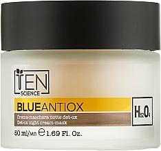 Духи, Парфюмерия, косметика Антиоксидантный ночной крем-маска - Ten Science Blue Antiox Night Cream