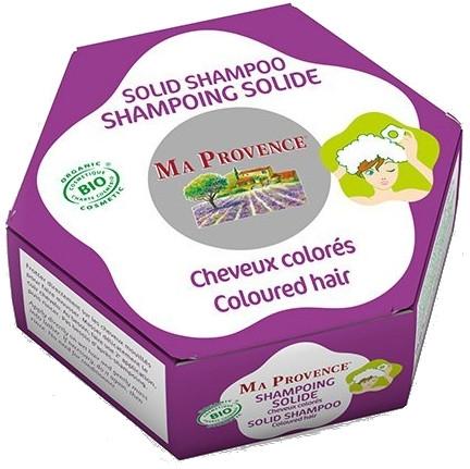 Твердый биошампунь для окрашенных волос - Ma Provence Solid Shampoo Colored Hair