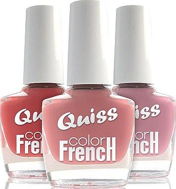 """Лак для ногтей """"Французский цвет"""" - Quiss French color"""