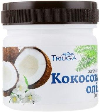 Аюрведическое, профилактическое кокосовое масло, холодного отжима - Triuga