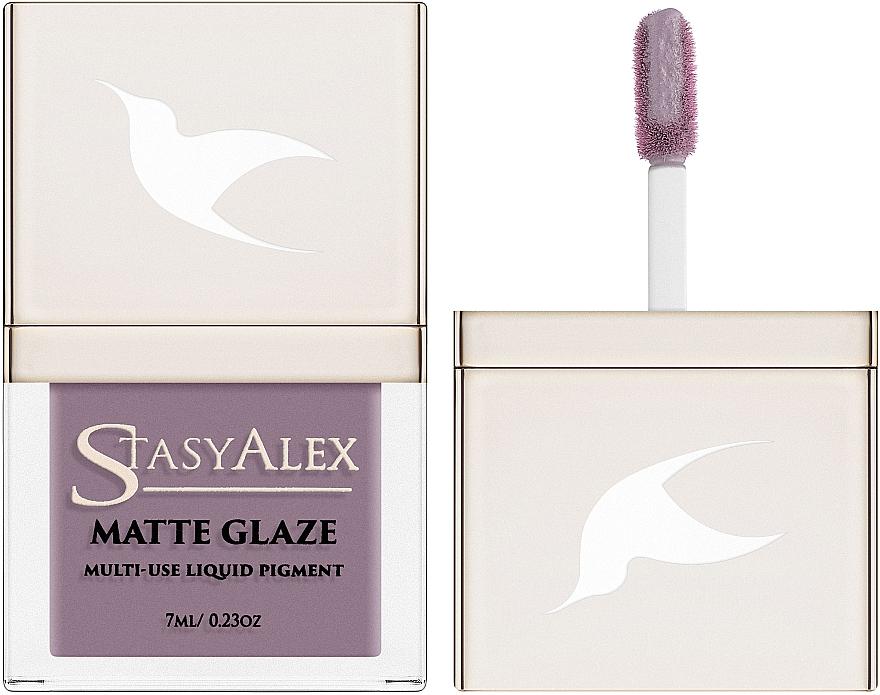 Водостойкий жидкий пигмент - StasyAlex Matte Glaze
