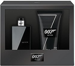 Духи, Парфюмерия, косметика James Bond 007 Seven - Набор (edt/50ml + sh/gel/150ml)