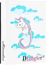 Духи, Парфюмерия, косметика Набор щеток для распутывания волос, синяя и розовая - KayPro Dtangler Unicorn