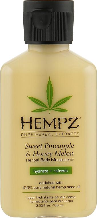 """Молочко для тела """"Ананас и Медовая дыня"""" - Hempz Sweet Pineapple & Honey Melon Moisturizer"""