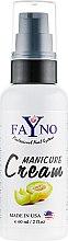 """Духи, Парфюмерия, косметика Увлажняющий крем для рук и кутикулы """"Дыня"""" - Fayno Manicure Cream"""