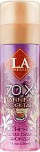 Духи, Парфюмерия, косметика Средство для автозагара с формулой 3-в-1 загар + уход - La Express 70X Tanning Coctail