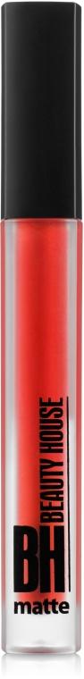 Жидкая матовая помада для губ - Beauty House Liquid Lipstick Matte