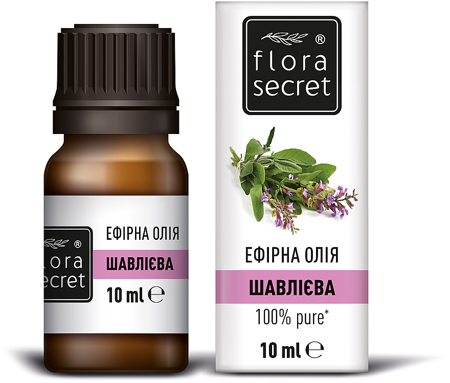 Эфирное масло шалфея - Flora Secret