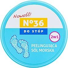Духи, Парфюмерия, косметика Морская соль-пилинг для ног 2 в 1 - Pharma CF No.36