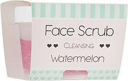 "Духи, Парфюмерия, косметика Скраб для лица и губ очищающий ""Арбуз"" - Nacomi Cleansing Face & Lip Scrub Watermelon"