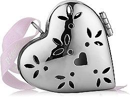 """Духи, Парфюмерия, косметика Ароматизатор в форме маленького сердца """"Хлопковые облака"""" - Collines de Provence Heart Pomander Cotton Clouds"""