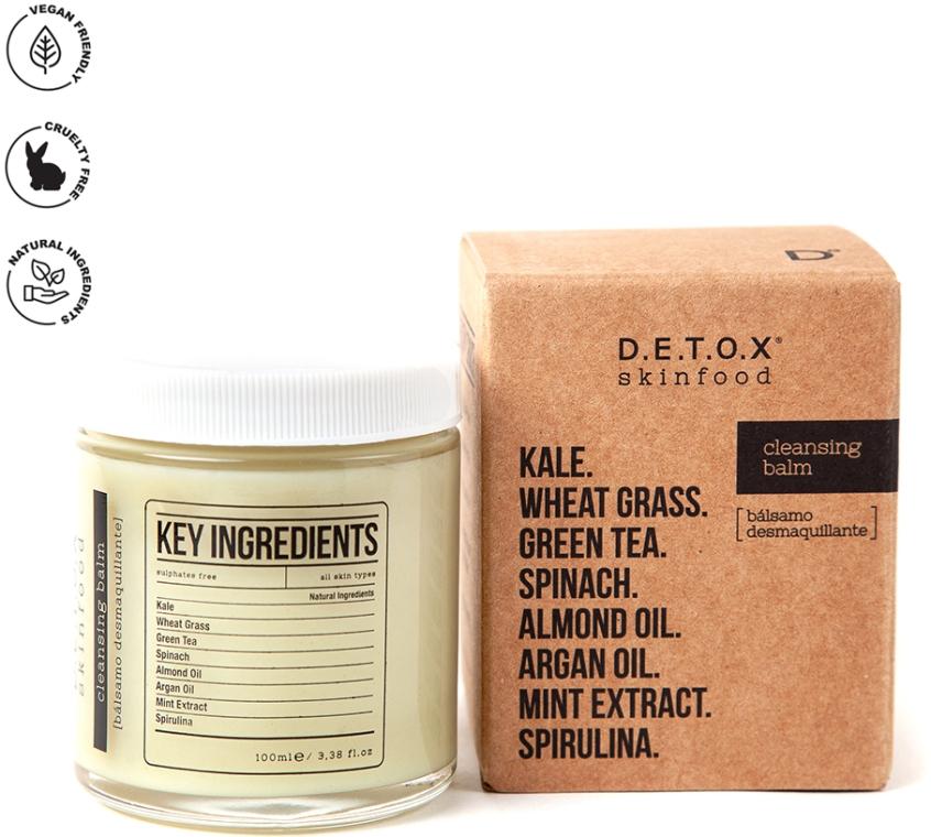 Очищающий и увлажняющий детокс-бальзам для лица - D.E.T.O.X. Skinfood Cleansing Balm