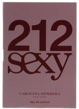 Духи, Парфюмерия, косметика Carolina Herrera 212 Sexy - Парфюмированная вода (пробник)