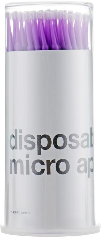 Микробраш для наращивания и снятия ресниц, фиолетовый, MWR-903 - MaxMar Micro Applicators