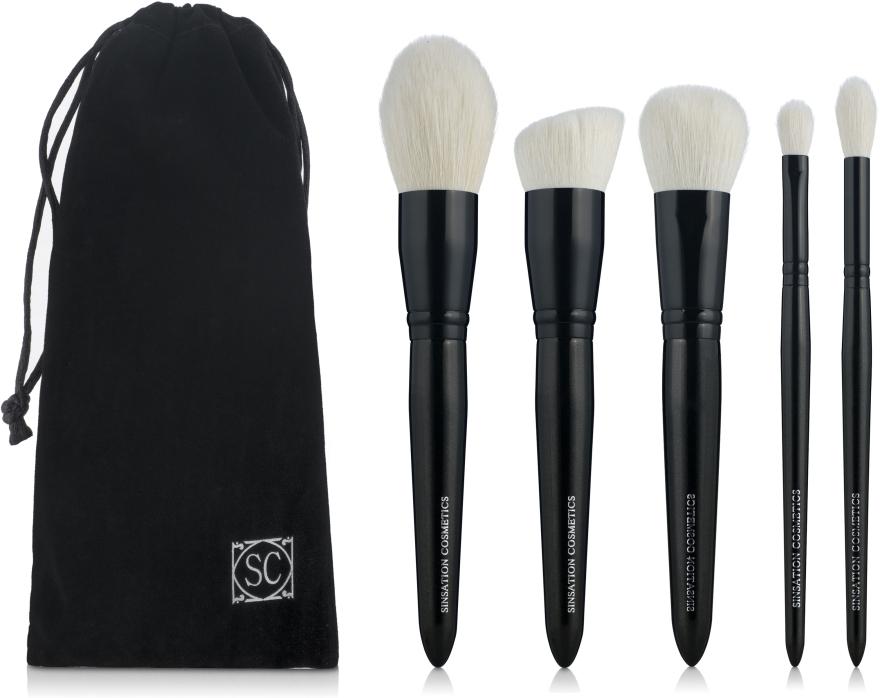 Набор кистей для макияжа - Sinsation Cosmetics Luxury Brush Set