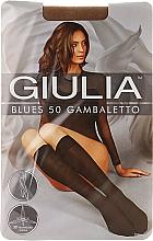 """Духи, Парфюмерия, косметика Гольфы для женщин """"Blues Gambaletto"""" 50 Den, caramel - Giulia"""