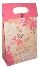 Духи, Парфюмерия, косметика Пакет бумажный с логотипом - Attirance Natural Cosmetics Gift Box
