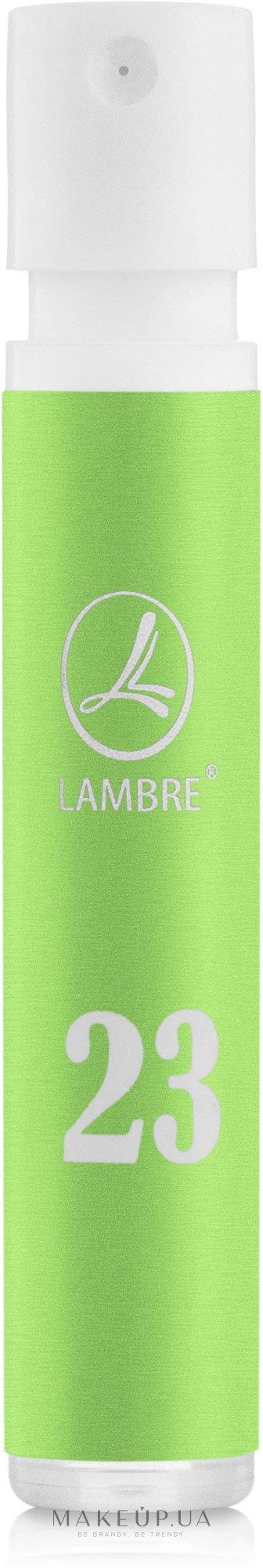 Lambre 23 - Духи (пробник) — фото 1.2ml