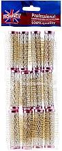 Духи, Парфюмерия, косметика Бигуди для волос 18/63 мм, розовые - Ronney Wire Curlers RA 00022