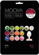 Духи, Парфюмерия, косметика Маска + сыворотка с экстрактом водорослей и кораллов - Beauty Face Mooya Bio Organic Treatment Mask + Serum