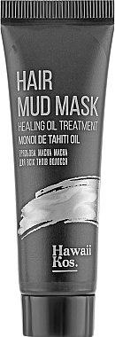 Маска для волос грязевая - Hawaii Kos Hair Mud Mask Healing Oil Treatment (мини)