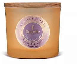 """Духи, Парфюмерия, косметика Ароматическая свеча в стакане """"Лаванда"""" - Flagolie Fragranced Candle Lavender Relax"""