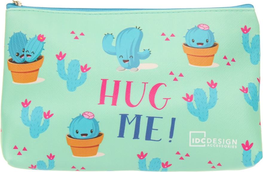 Косметичка с принтом, Hug Me! - IDC Institute Design Accessories Cosmetig Bag
