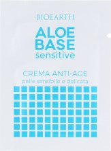 Духи, Парфюмерия, косметика Крем для лица антивозрастной - Bioearth Aloebase Sensative Anti-Age Cream (пробник)