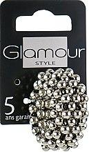 Духи, Парфюмерия, косметика Резинка-браслет для волос, серебряная - Glamour