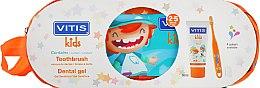Духи, Парфюмерия, косметика Набор - Dentaid Vitis Kids (Toothpaste/50ml + Toothbrush + pencil case)
