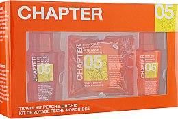 """Духи, Парфюмерия, косметика Косметический набор для тела """"Персик и Орхидея"""" - Mades Cosmetics Chapter Kit (sh/gel/100ml + b/lot/100ml + soap/50ml)"""