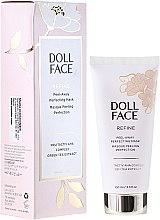 Духи, Парфюмерия, косметика Очищающая гель-маска для лица - Doll Face Refine Peel-Away Refining Gel Mask