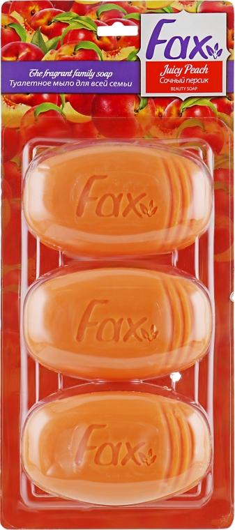 """Туалетное мыло """"Сочный персик"""" - Fax Soap"""