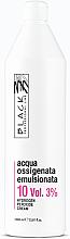 Духи, Парфюмерия, косметика Эмульсионный окислитель 10 Vol. 3% - Black Professional Line Cream Hydrogen Peroxide