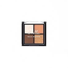 Духи, Парфюмерия, косметика Компактная палетка теней - Chella Travel Size La Vie Neutral Eyeshadow Palette