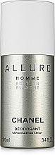 Духи, Парфюмерия, косметика Chanel Allure Homme Edition Blanche - Дезодорант