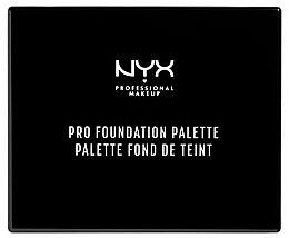 Духи, Парфюмерия, косметика Палитра для макияжа - NYX Professional Makeup Pro Foundation Palette