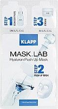 Маска «Гиалурон Пуш ап» - Klapp Mask Lab Hyaluron Push Up Mask — фото N1