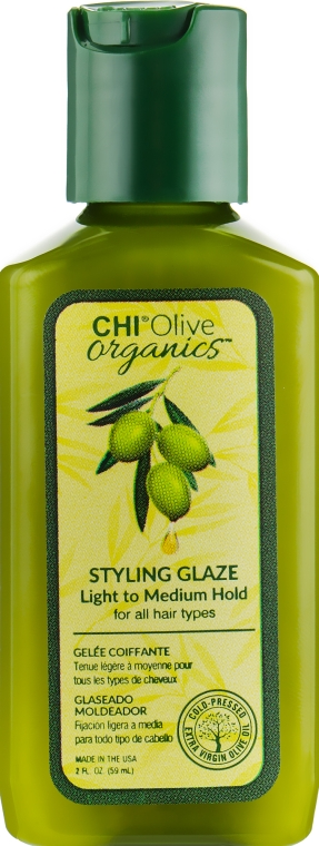 Глазурь для укладки волос - Chi Olive Organics Styling Glaze