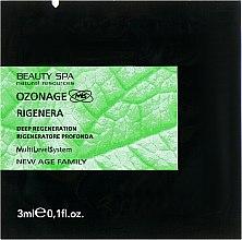 Духи, Парфюмерия, косметика Восстанавливающий крем для лица - Beauty Spa Ozonage Rigenera (пробник)