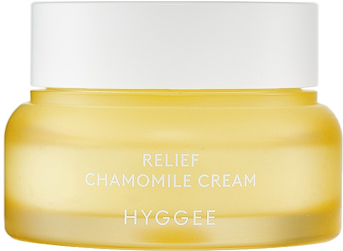 Легкий успокаивающий крем для лица - Hyggee Relief Chamomile Cream