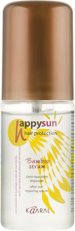 Восстанавливающая сыворотка для волос - Kaaral Happy Sun Bamboo Serum