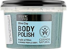 "Духи, Парфюмерия, косметика Скраб для тела ""Голубая глина"" - Organic Shop Body Scrub Organic Olive & Clay"