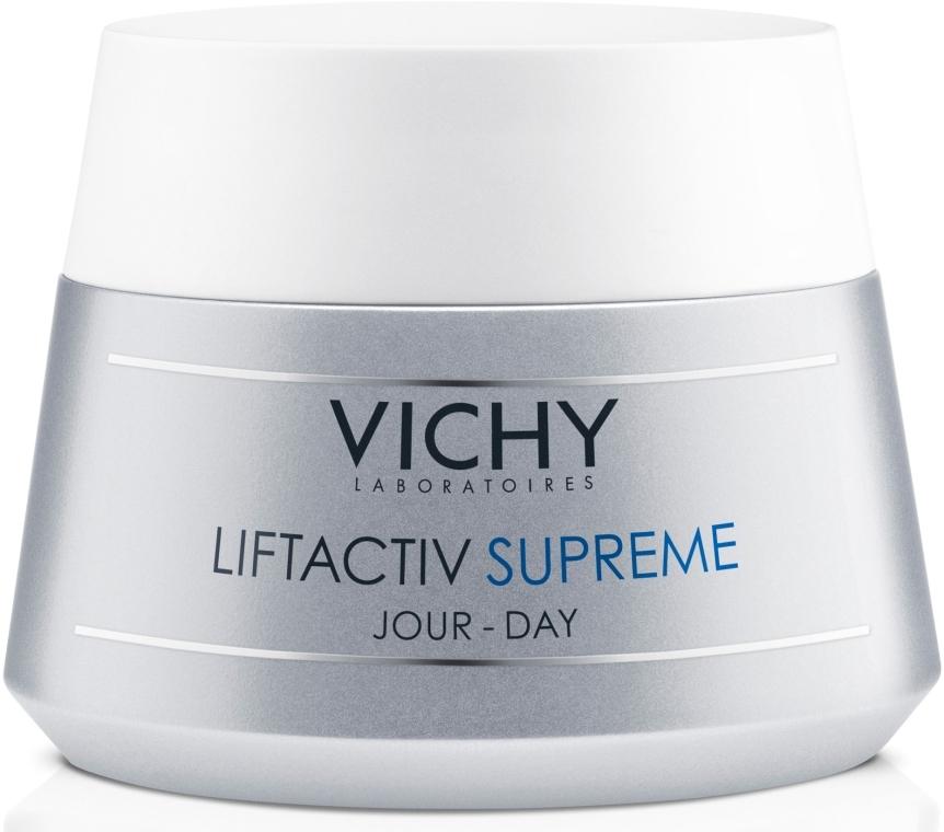 Средство длительного действия: коррекция морщин и восстановление упругости для нормальной и комбинированной кожи - Vichy Liftactiv Supreme Day Normal to Combi Skin