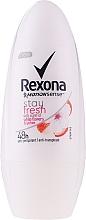 Духи, Парфюмерия, косметика Дезодорант-ролик - Rexona Stay Fresh Deo Roll-On White Flowers