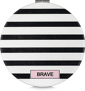 Зеркало косметическое круглое, Brave - Lily Cosmetics
